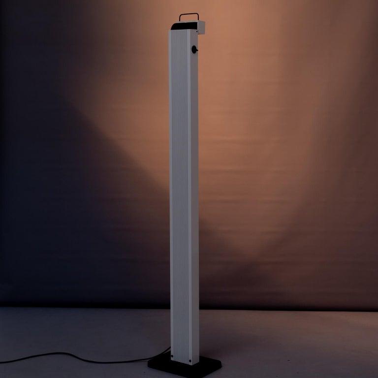 20th Century 1980s Sergio Carpani 'Zagar' Dimmable Halogen Floor Lamp for Stilnovo For Sale