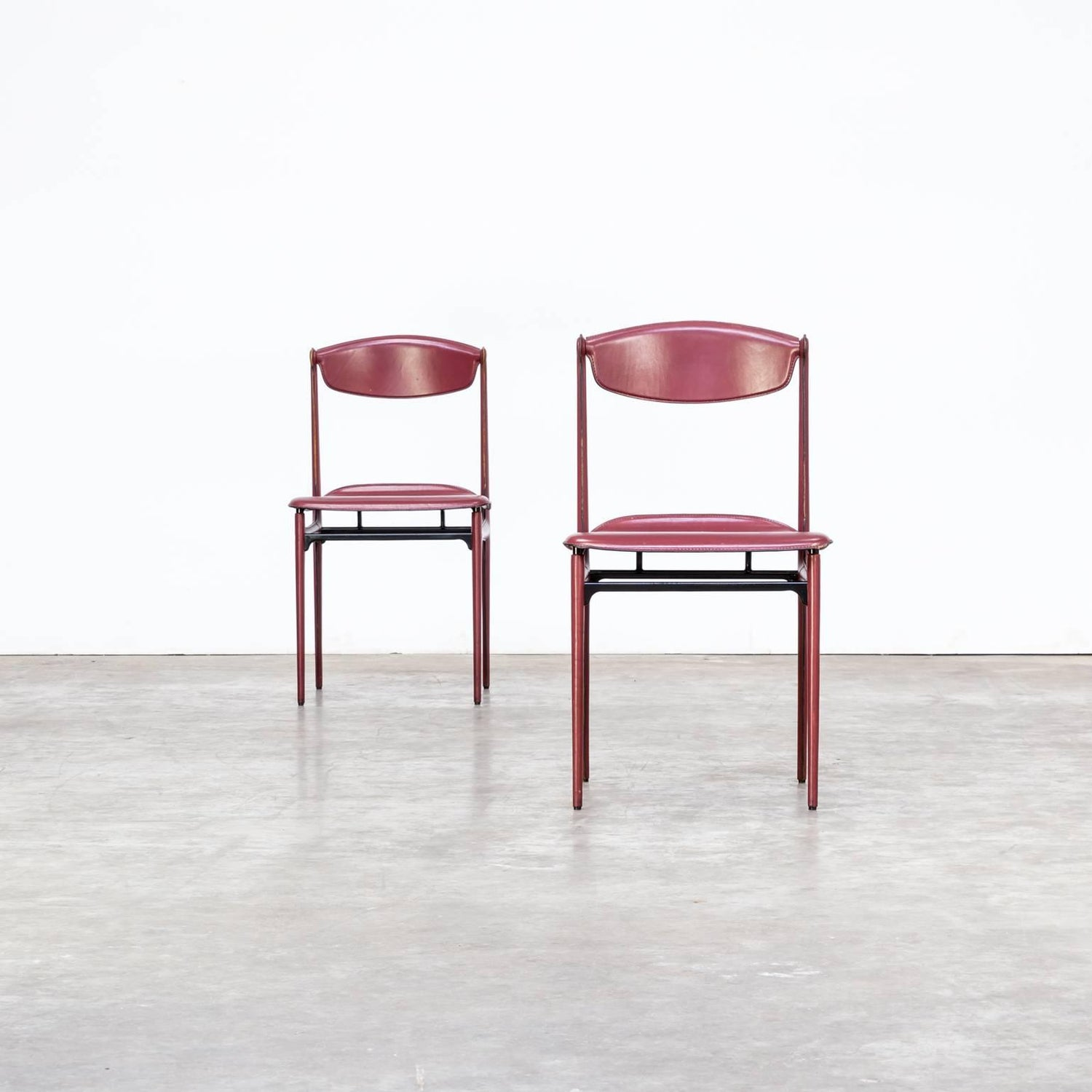 1980s Tito Agnoli Chairs for Matteo Grassi Set of Two For Sale at ...
