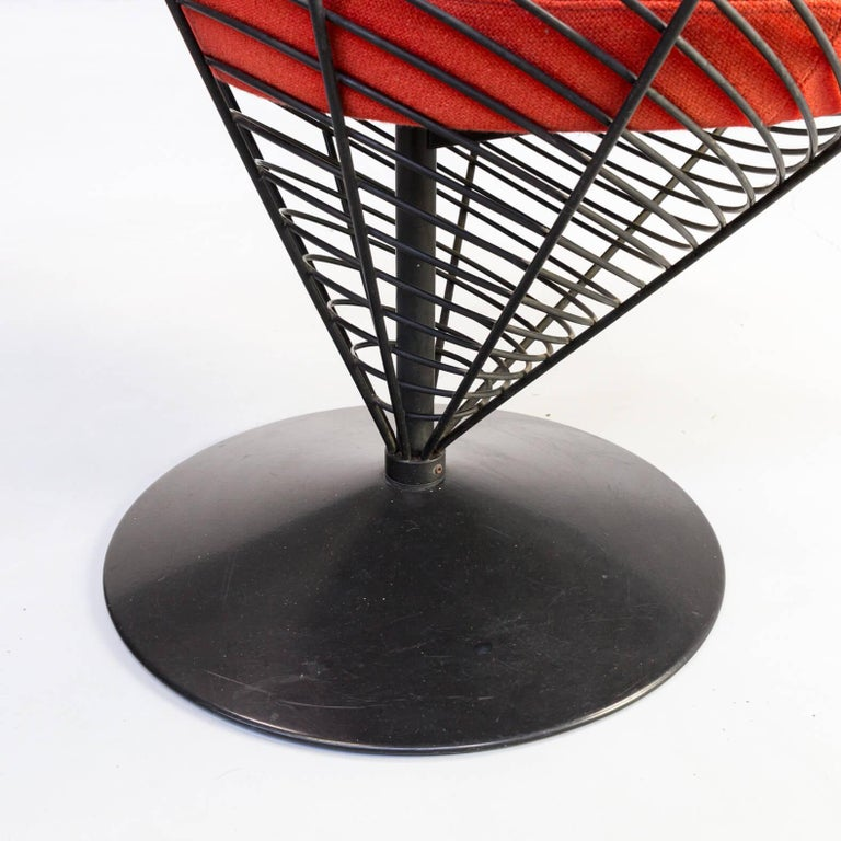 1980s Verner Panton Cone Chair for Fritz Hansen, Set of 2 For Sale 3