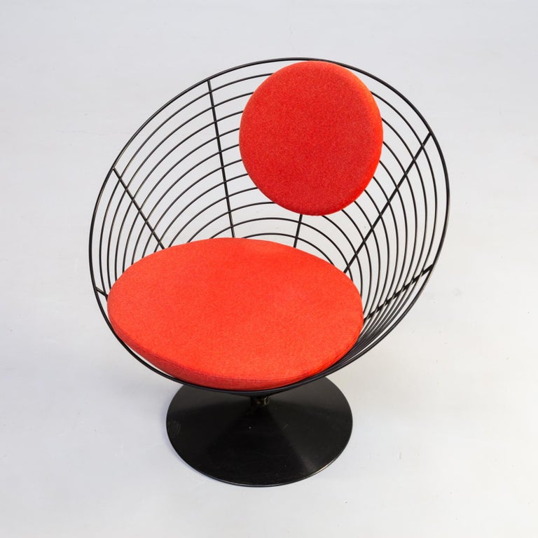1980s Verner Panton Cone Chair for Fritz Hansen, Set of 2 For Sale 1