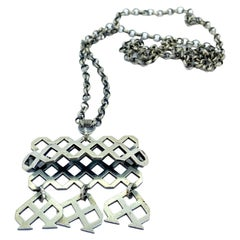 813H Silver Necklace 1967 Finland