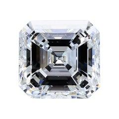 8.14 Carat Asscher Cut Diamond GIA Certified