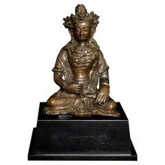 18thC Tibetan Buddha or Bodhisattva. Rare and Fine 8189
