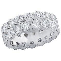 Vivid Diamonds 8.25 Carat Diamond Wedding Eternity Band