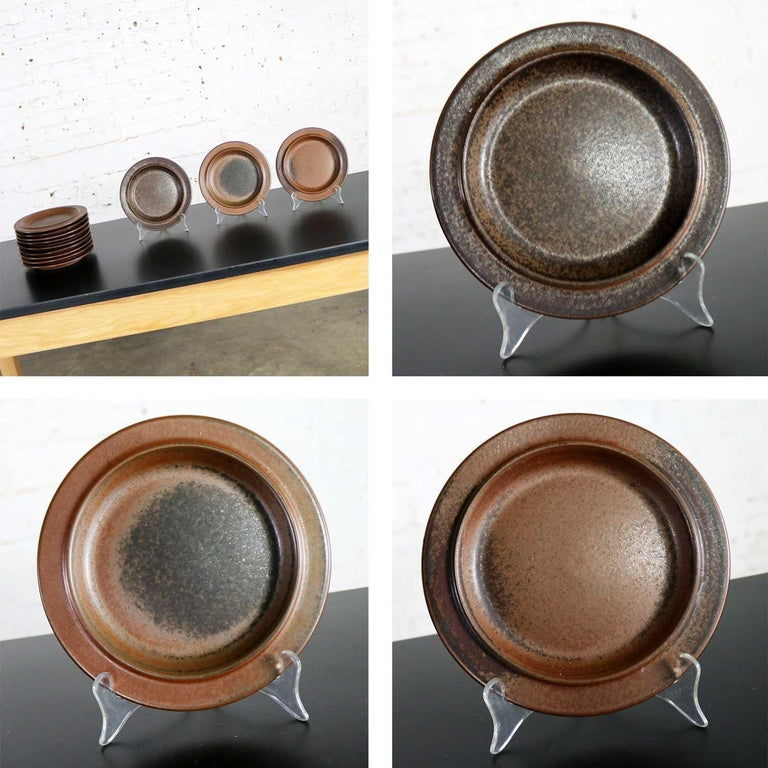 83 Pc Set Vintage Midcentury Ruska Stoneware by Ulla Procope for Arabia, Finland For Sale 13