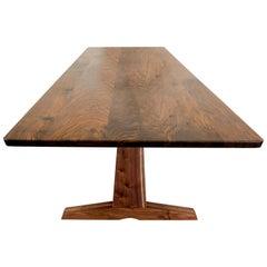 """84"""" Columbia Trestle Table in Oregon Walnut by Studio Moe"""