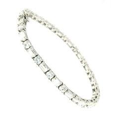 8.50 Carat Diamond H color Vvs Gold Tennis Bracelet