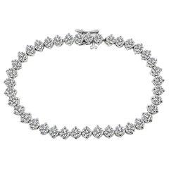 8.50 Carat Diamond Tennis Bracelet