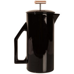 850 mL Ceramic French Press, Gloss Black
