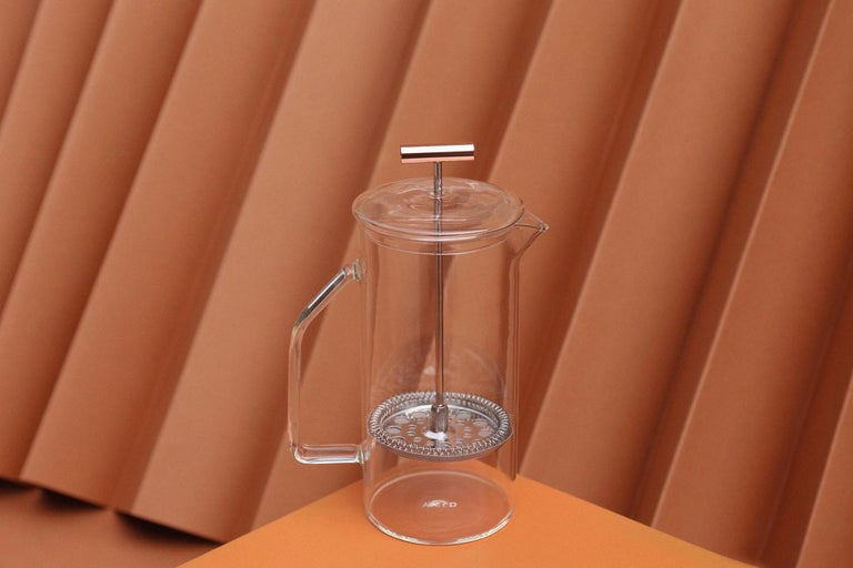 American 850 mL Glass French Press, Clear For Sale