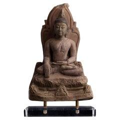 8692_15thC Northern Thai Stucco Buddha