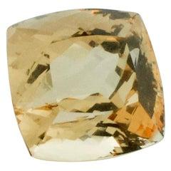 87.67 Carat Golden Beryl with GIA Certification