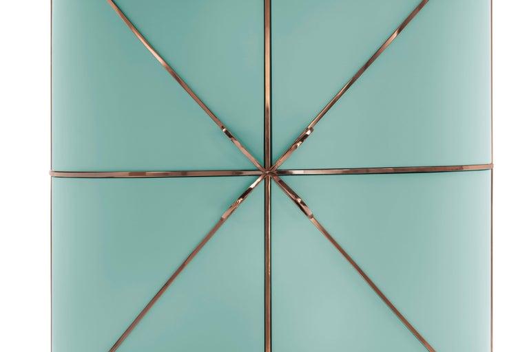 Contemporary 88 Secrets Jade Bar by Nika Zupanc for Scarlet Splendour For Sale
