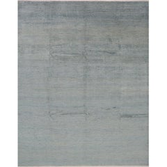 Handwoven Transitional Indo Rug
