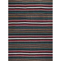Navajo Style Flatweave Persian Kilim Rug – 110504