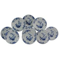 #9 Antique Chinese Porcelain 18th Century Yongzheng/Qianlong Period Blue White