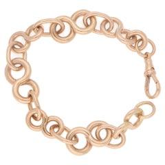 9 Karat Rose Gold Bracelet