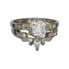 9 Karat White Gold Diamonds Eternity's Veil Stacking Set