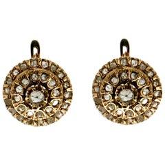 9 karat Yellow Gold Stud Earrings