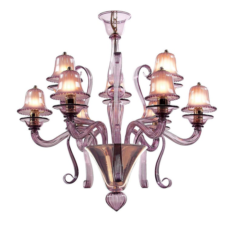 9-Light Chandelier In New Condition For Sale In Milan, IT