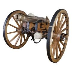 9 Pounder Bronze Canon