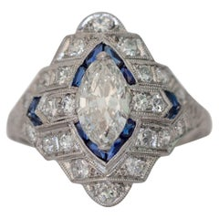 .90 Carat Diamond Platinum Engagement Ring