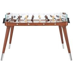 90 Minuto Foosball Table by Teckell in Walnut Wood