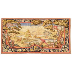 900, Aubusson French Antique Tapestry, 19th Century