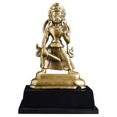 Early Himalayan Bronze Deity - 9000