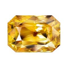 90,45 Carat Natural Srilankan Yellow Sapphire Octagon Shape
