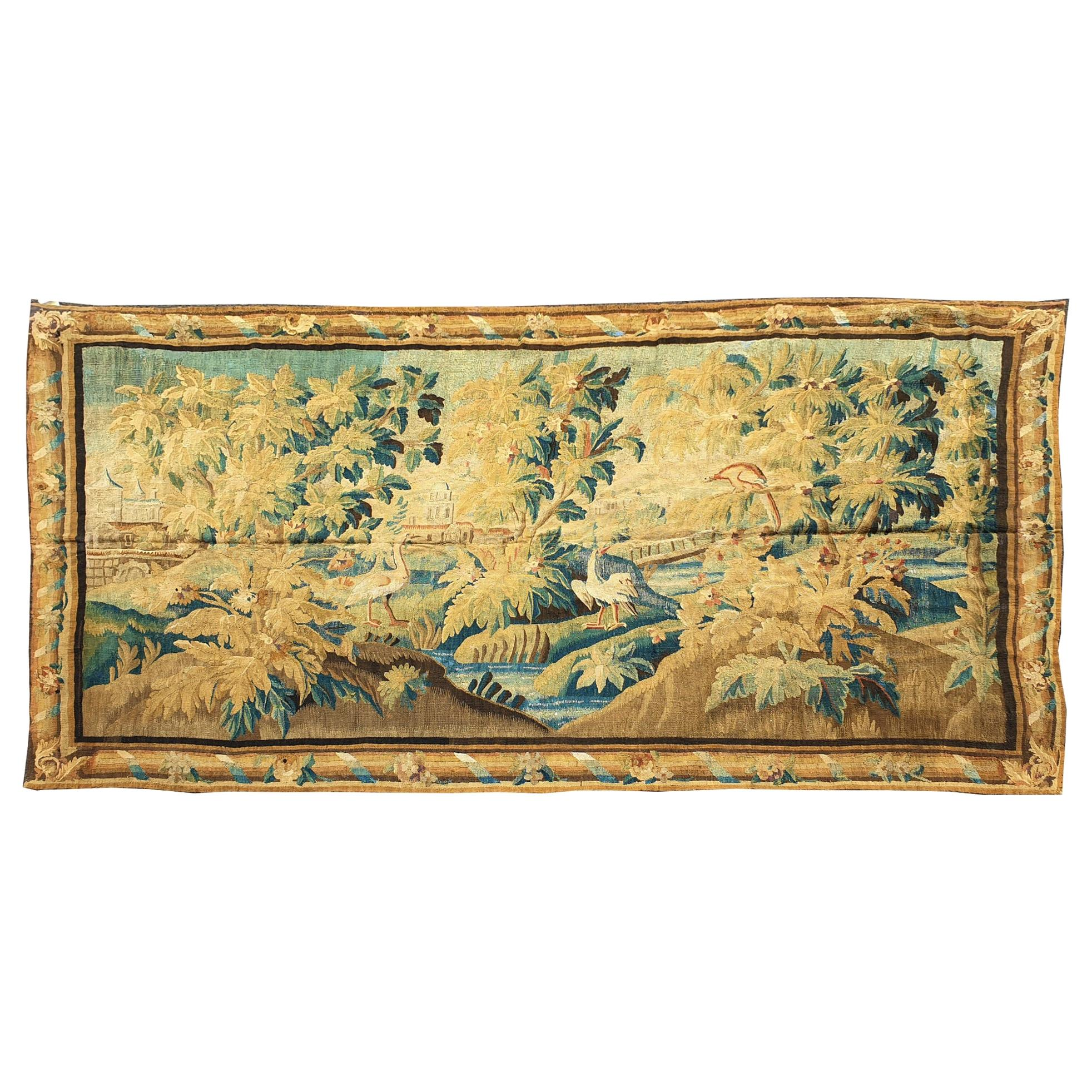 905 -  18th Century Royal Aubusson Tapestry