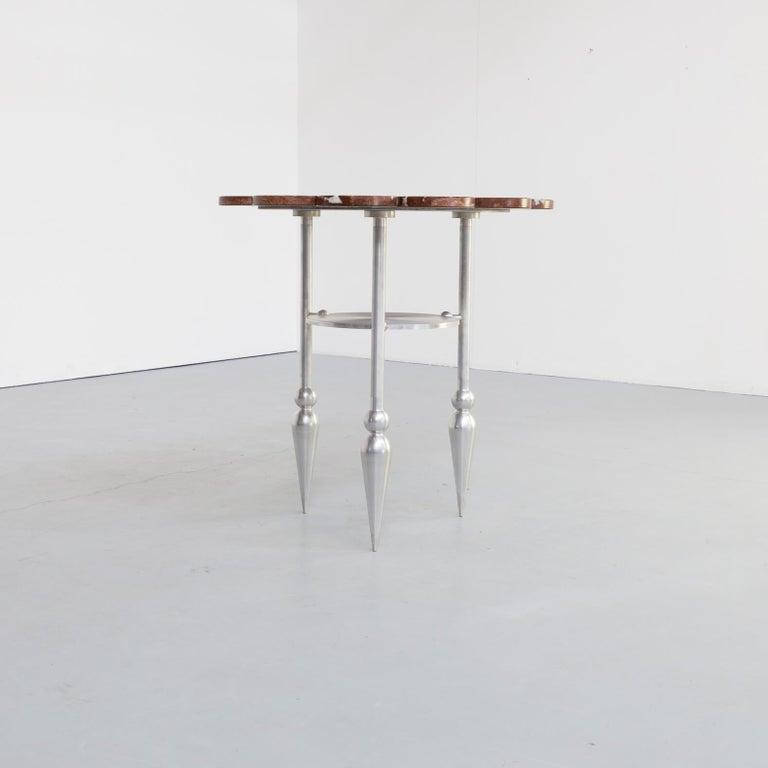 90s Borek Spirek 'Dalibor' Sidetable for Steltman Galleries Limited Batch In Good Condition For Sale In Amstelveen, Noord