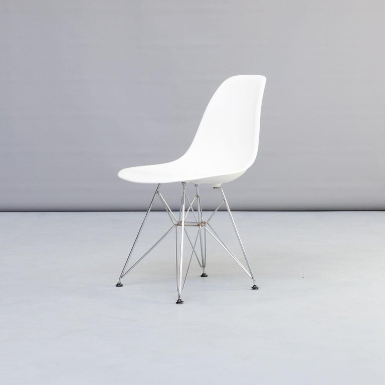 20th Century 1990s Charles & Ray Eames 'Dsr' Dining Chair for Vitra, Set of 4 For Sale