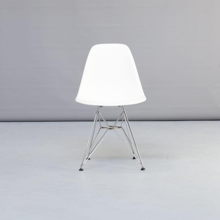 Metal 1990s Charles & Ray Eames 'Dsr' Dining Chair for Vitra, Set of 4 For Sale