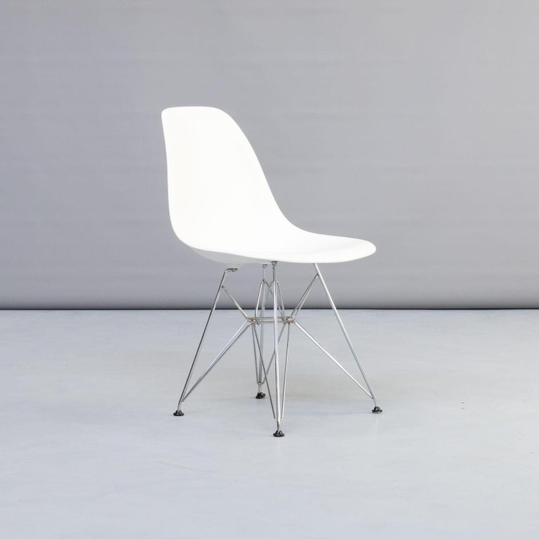 1990s Charles & Ray Eames 'Dsr' Dining Chair for Vitra, Set of 4 For Sale 1