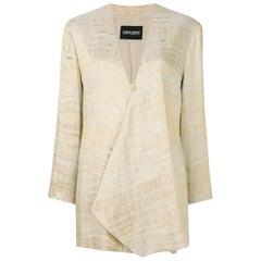 90s Giorgio Armani Textured Gold Jacket