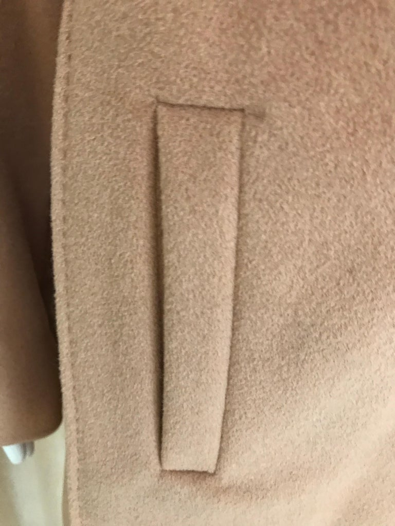 90s Jean Paul Gaultier Wrap Around Soft Cashmere Coat  For Sale 2