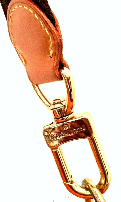 90'S Louis Vuitton Canvas & Leather