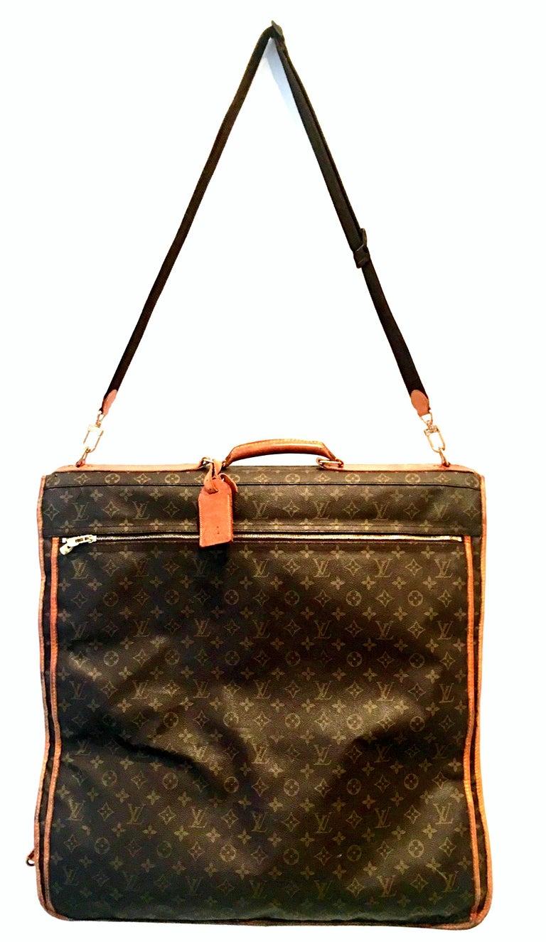 1990S Louis Vuitton Canvas, Leather & Brass Folding