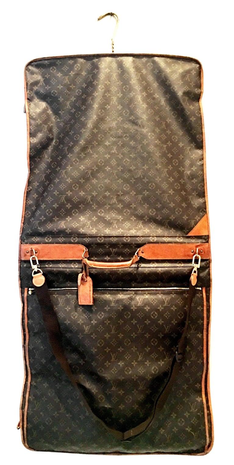 Black 90'S Louis Vuitton Canvas & Leather