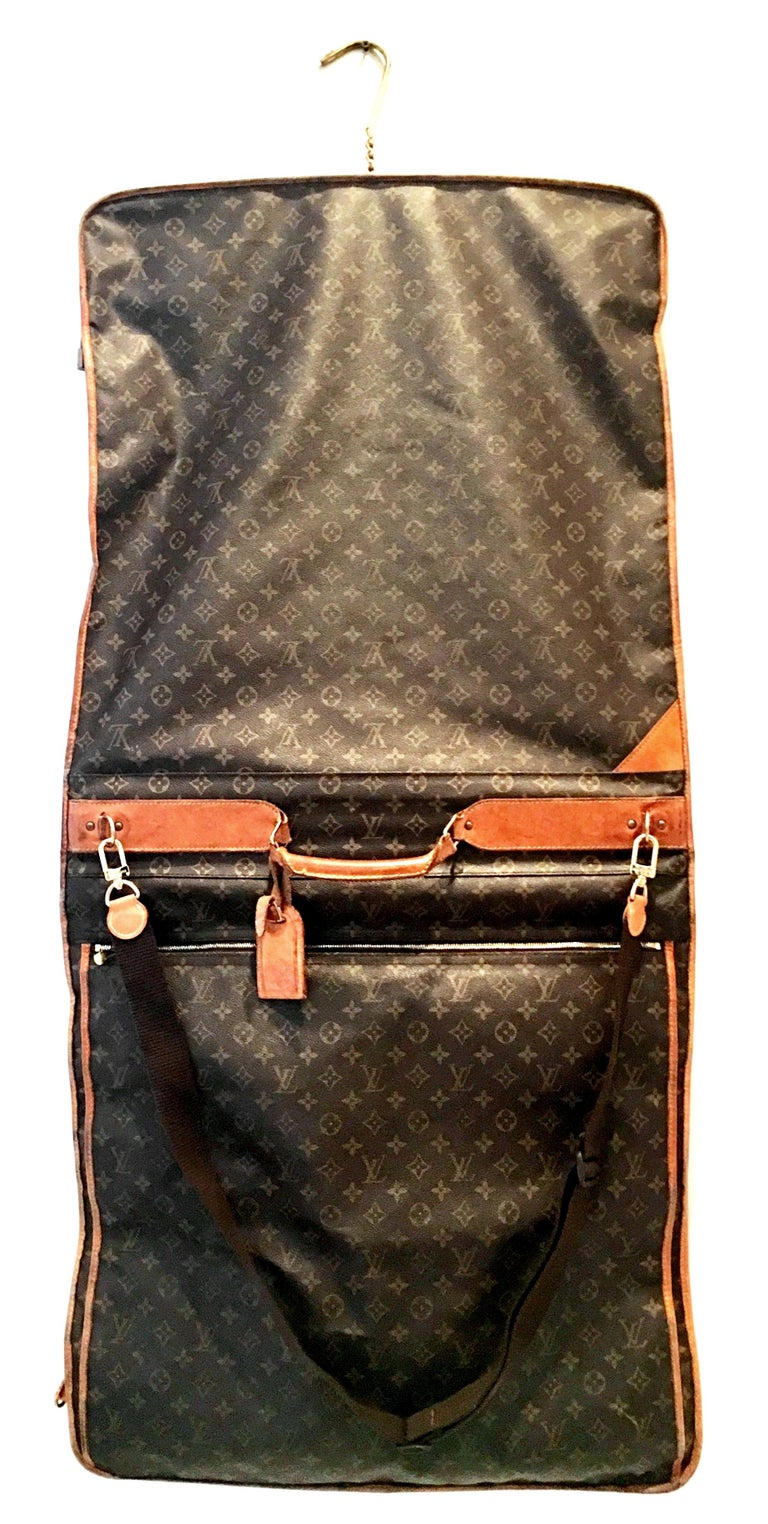 Black 90'S Louis Vuitton Canvas & Leather