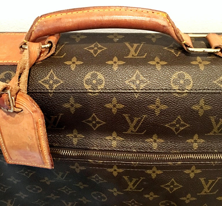 90'S Louis Vuitton Canvas & Leather