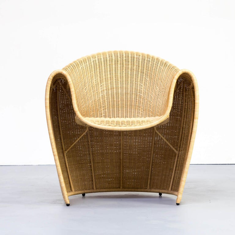 1990s Miki Astori 'King Tubby' Fauteuil for the Atlantide Collection of Driade For Sale 4