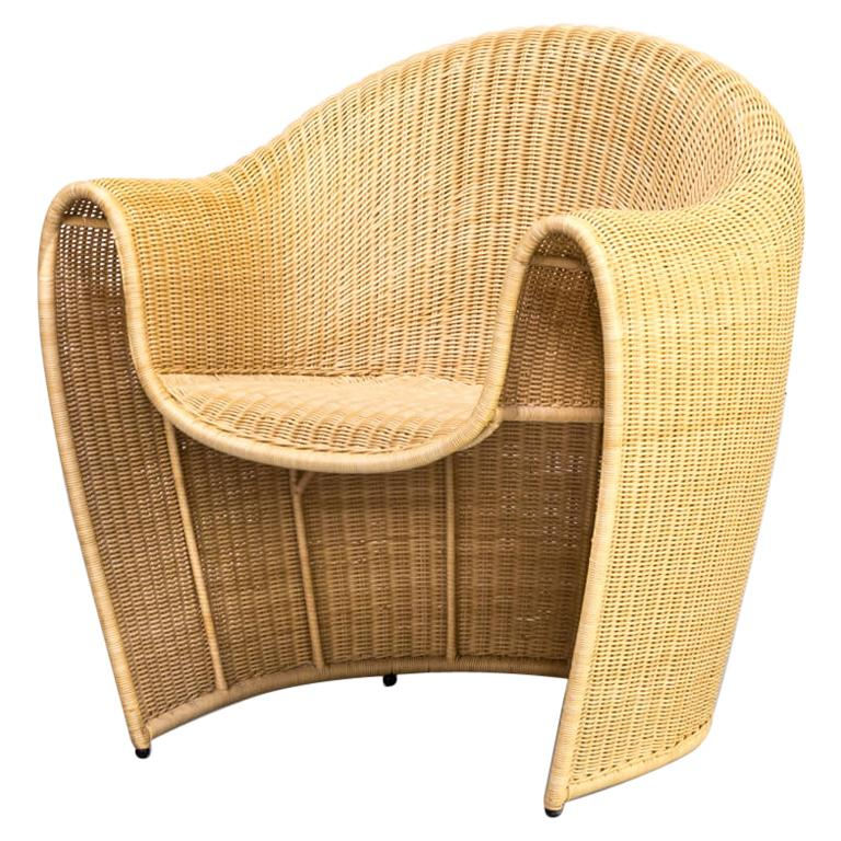 1990s Miki Astori 'King Tubby' Fauteuil for the Atlantide Collection of Driade For Sale