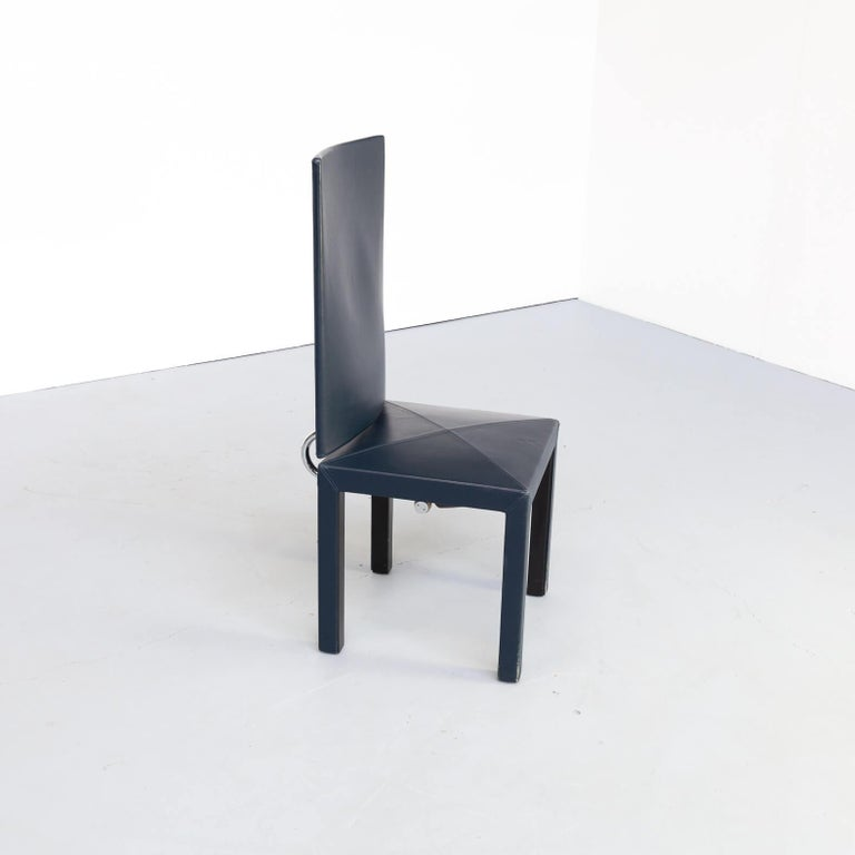 90s Paolo Piva 'arcadia' dining chairs for B & B Italia set/6 For Sale 8