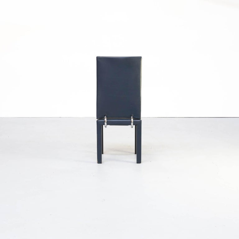 90s Paolo Piva 'arcadia' dining chairs for B & B Italia set/6 For Sale 1