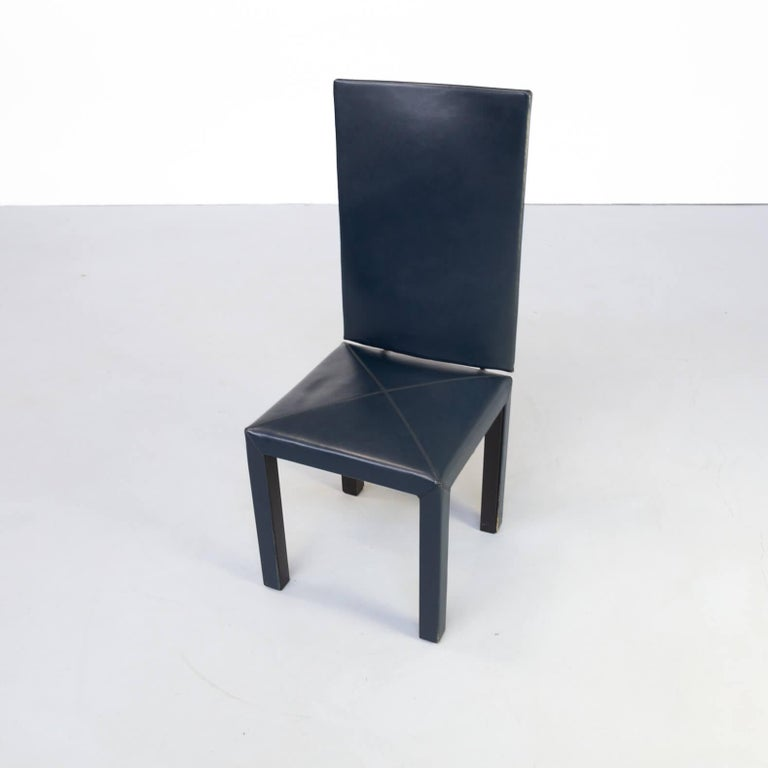 90s Paolo Piva 'arcadia' dining chairs for B & B Italia set/6 For Sale 2