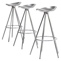 1990s Pepe Cortes 'jamaica' Stools for Amat-3 Set of 3