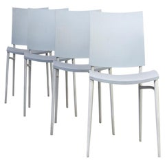 """90s Philippe Starck """"miss c.o.c.o."""" Dining Chair for Cassina Set/4"""