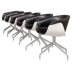"90s Uwe Fischer ""Sina"" Chair for B&B Italia Set/6"